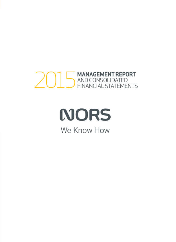 Rapport Annuel - 2015